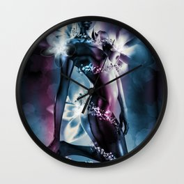 """GENTIAN """"Truth and Vision"""" Wall Clock"""