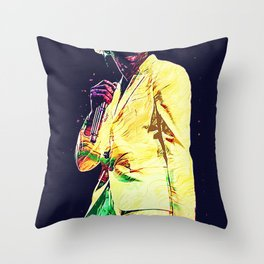 Tyler The Creator poster Throw Pillow