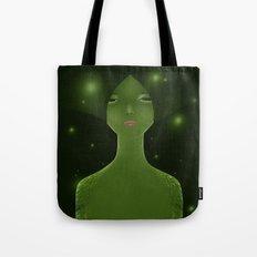 Woman_snake Tote Bag