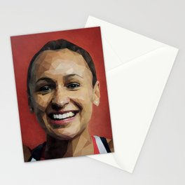 Olympic Hero Jessica Ennis-Hill Stationery Cards
