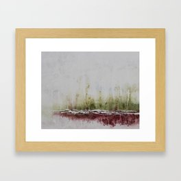 Sun and Spring and Green Forever Framed Art Print