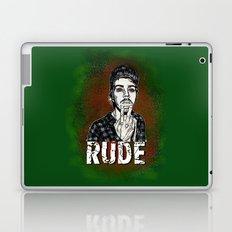 Rude Laptop & iPad Skin