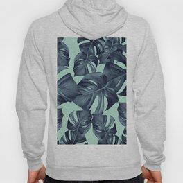 Monstera Leaves Pattern #10 #tropical #decor #art #society6 Hoody