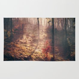 Little Red Tree Rug