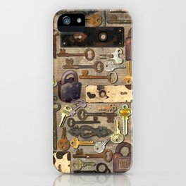 Lock iPhone Case