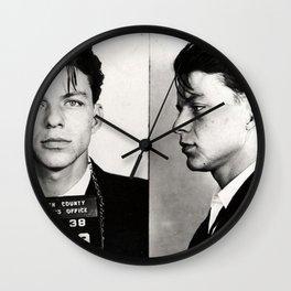 Young Sinatra Logic Wall Clock