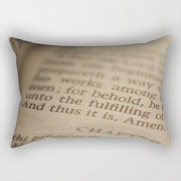 Conclusion Rectangular Pillow