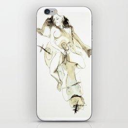 Tristan Corbière, Thick Black Trace, Pudentiane iPhone Skin