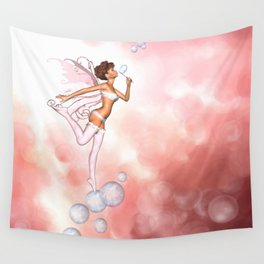 Bubble Fairy Wall Tapestry