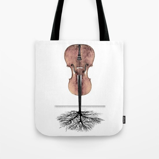 Rooted Sound II Tote Bag