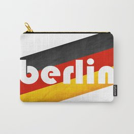 Berlin, with flag colors Carry-All Pouch