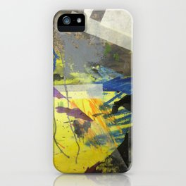 Spikes and Rubble iPhone Case
