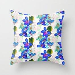 Saturated Bloom 2 Throw Pillow