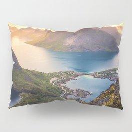 Reinebringen norway Pillow Sham