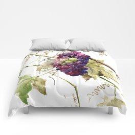 Grapes, California Vineyard Wine Lover design Comforters