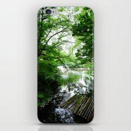 Ueno park iPhone Skin