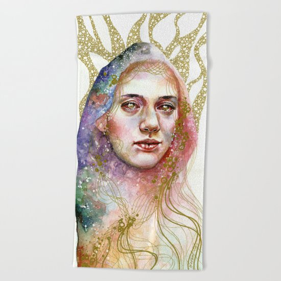 Gilded Cage Beach Towel