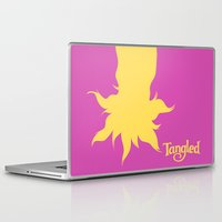tangled Laptop & iPad Skins featuring Tangled by Citron Vert