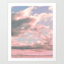 Delicate Sky Art Print