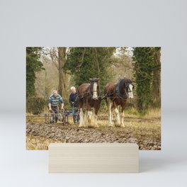 Working Horses 3 Mini Art Print