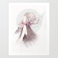 Faceless Series #1 Art Print