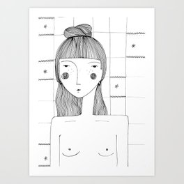 I'm Lovely Art Print