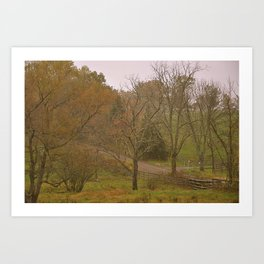 Country Roads Art Print