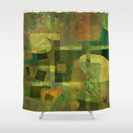 Dorado Verdiso and Butterfly Shower Curtain