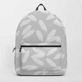 Falling Petals (grey) Backpack