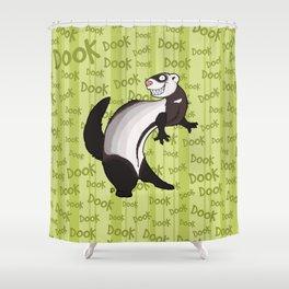 Crazy Carpet Shark Shower Curtain
