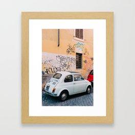 Roman Road Framed Art Print