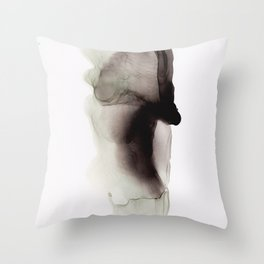 Blac Ink 2 Throw Pillow