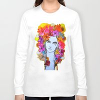florence Long Sleeve T-shirts featuring Florence by D.U.R.A