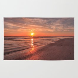Sunburst at Sunset Rug