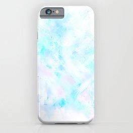 Light Blue Clouds iPhone Case