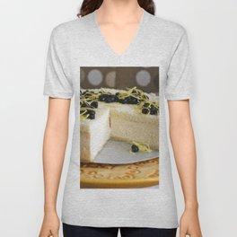 Cheesecake Unisex V-Neck