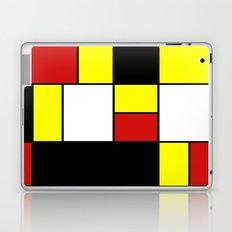 Abstract #378 Mondriaan Laptop & iPad Skin
