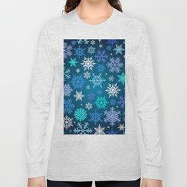 Snowflake pattern Long Sleeve T-shirt
