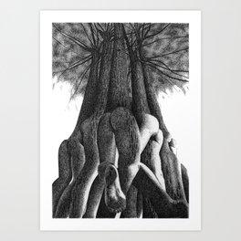 Buttress Art Print