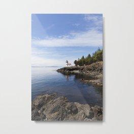 Ocean View San Juan Island #3- Minimalistic Fine Art Photo Print Metal Print