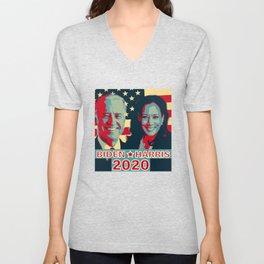 Joe Biden Kamala Harris 2020 Unisex V-Neck