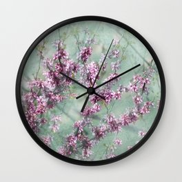 Judas Tree Wall Clock