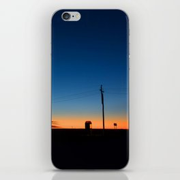 Outback sunset iPhone Skin
