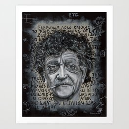 Man Without a Country Art Print
