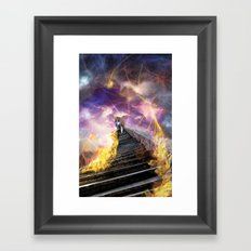 Stairs of Revelation Framed Art Print
