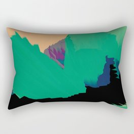 abstract galaxy Rectangular Pillow