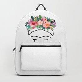 Frida Kahlo Flowers Backpack