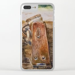 Padlock Clear iPhone Case