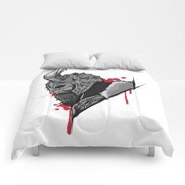 Viking Warrior | Raven Odin Valhalla Valknut Loki Comforters