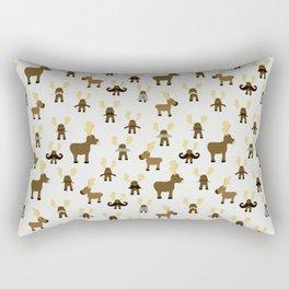 Moosestaches Rectangular Pillow